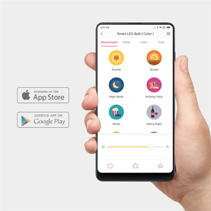 Image 5 - [İngilizce Sürüm] Yeelight akıllı led ampül Renkli 800 Lümen 10W E27 Limon Akıllı Lamba Mi Ev App Için Beyaz /RGB Seçeneği