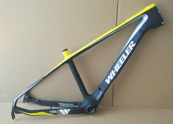 Последняя полная карбоновая рама 29er 15 17 19 дюймов карбоновая mtb рама 29 er BB92 рама для велосипеда Рама для горного велосипеда запчасти для велос...