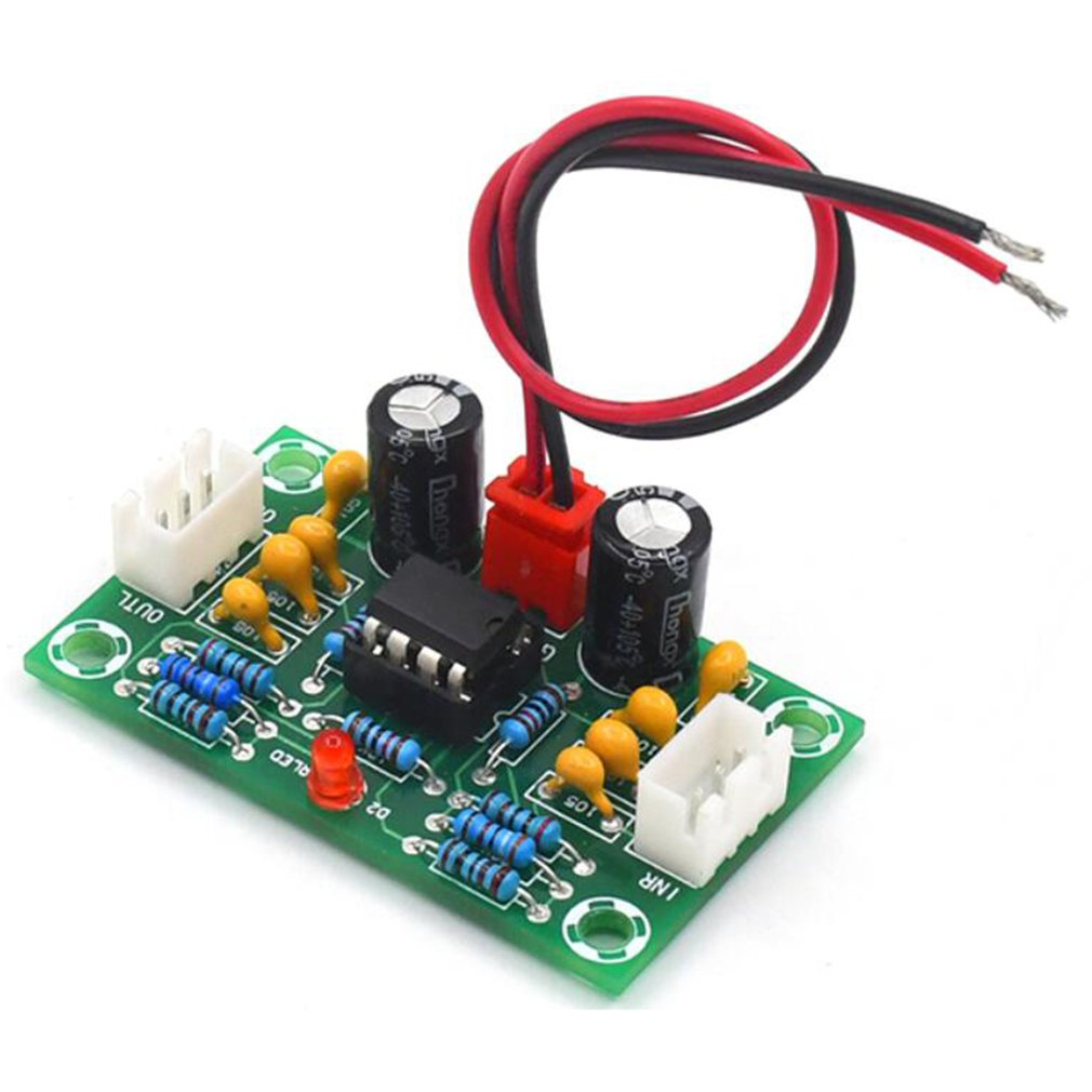 Mini Preamp Op Amp Module Amplifier Dual Channel NE5532 Preamplifier Tone Board 5 Times Wide Voltage 12-30V G10-004
