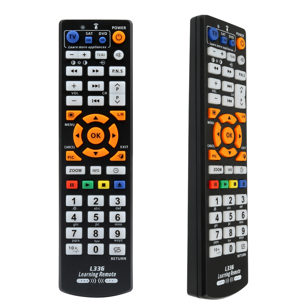 Image 4 - Universal Smart IR Remote Control with learn function, 3 pages controller copy for TV STB DVD SAT DVB HIFI TV BOX, L336-in Remote Controls from Consumer Electronics