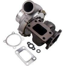 Турбокомпрессор GT3582 GT35, турбокомпрессор с защитой от перенапряжения, турбокомпрессор 70 A/R .63 A/R Water + Oil Cool, универсальный Турбокомпрессор, внешний Турбокомпрессор, 600 л. С.