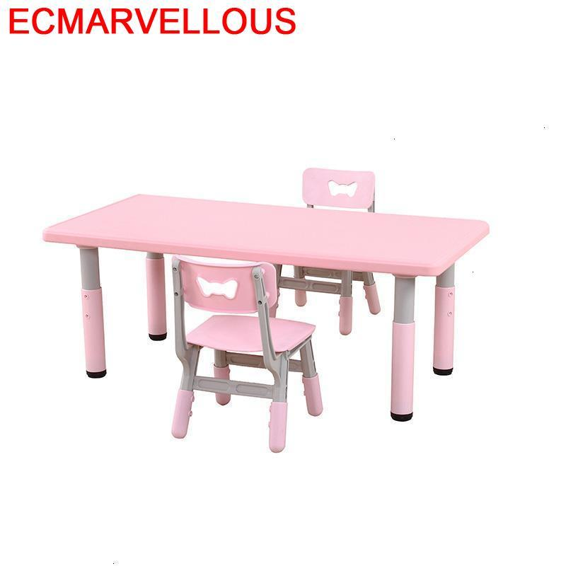 And Chair Play Escritorio Desk For Toddler Kids Y Silla Kindergarten Study Bureau Enfant Mesa Infantil Kinder Children Table