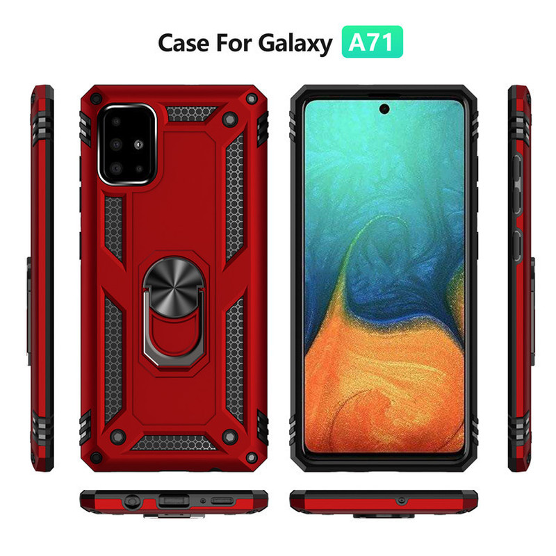 Armor Metal Magentic <font><b>Case</b></font> For <font><b>Samsung</b></font> A71 A51 <font><b>A20E</b></font> A30 A50 <font><b>Case</b></font> <font><b>Shockproof</b></font> Car Holder Cover For <font><b>Samsung</b></font> <font><b>Galaxy</b></font> A10S <font><b>A20S</b></font> A81 A91 image