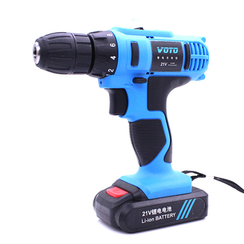 Electric Drill Home Multi-function Electric Screwdriver Rechargeable Electric Drill lithium Battery Impact Drill xltown25v 2000ma impact drill rechargeable lithium battery electric screwdriver multifunction cordless household electric drill