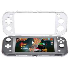 Crystal Transparent Protective Case Cover Fit for Nintend Switch Lite Game Console Accessories  Waterproof Shockproof  Dustproof