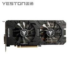 Yeston Radeon RX 580 GPU 8GB GDDR5 256bit Gaming Desktop Computer PC Video Graphics Karten Unterstützung DVI/HDMI PCI-E X16 3,0