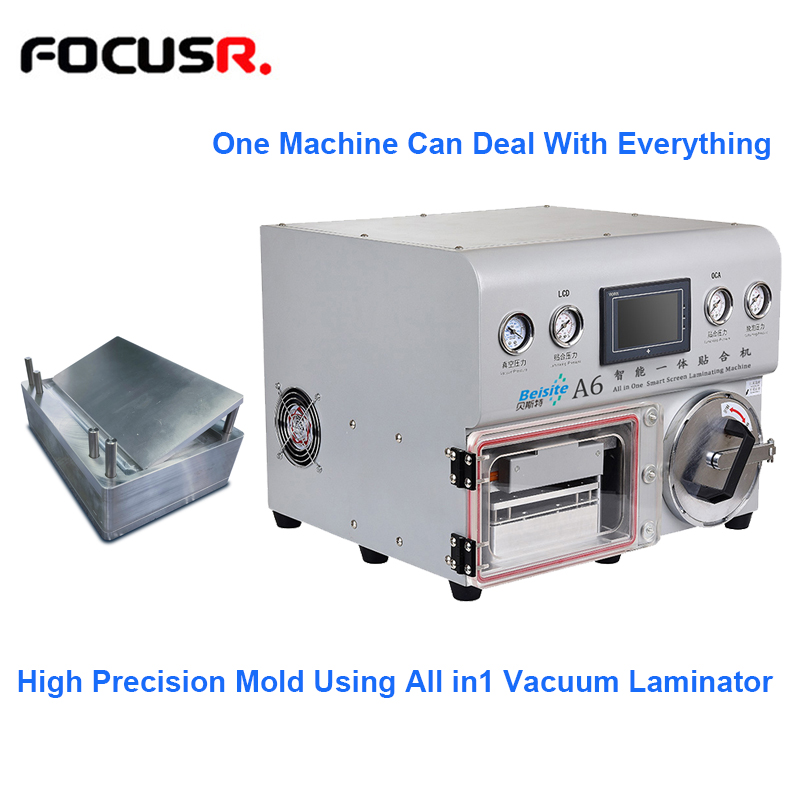 All In1 Type Vacuum OCA Laminating Machine Laminator For High Precision Mold LCD Refurbish For iphone Samsung With Autoclave image