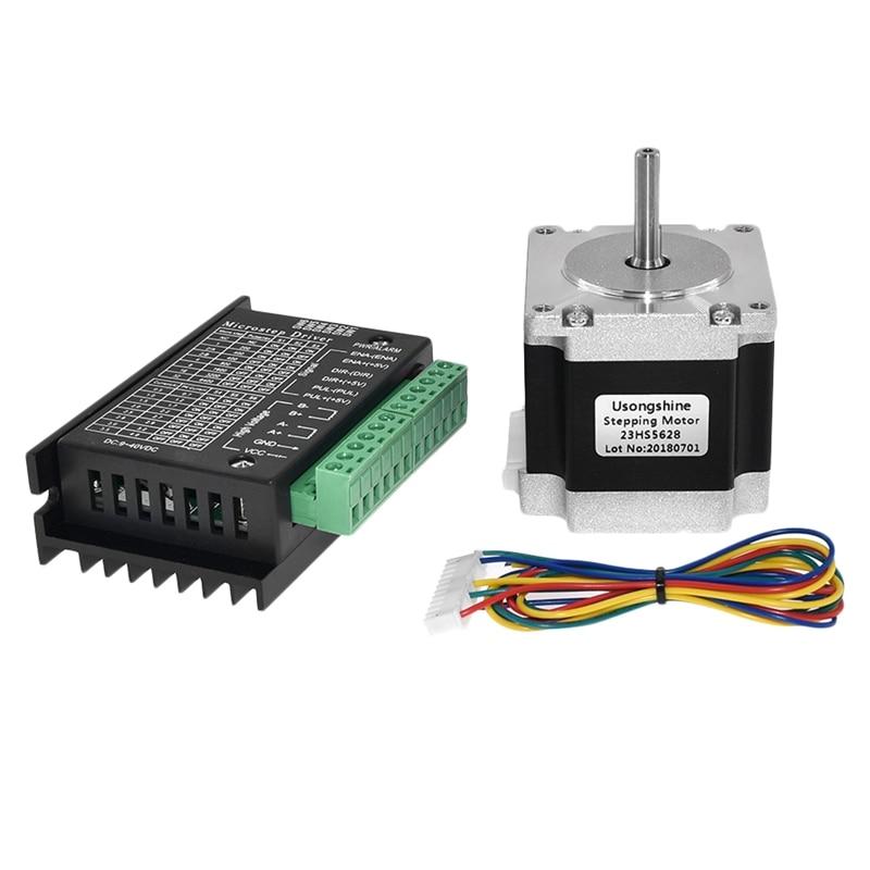 Nema 23 23HS5628 Stepper Motor 57 Motor 2.8A With TB6600 Stepper Motor Driver NEMA17 23 For CNC And 3D Printer Part Parts 3D Printer Parts & Accessories     - title=