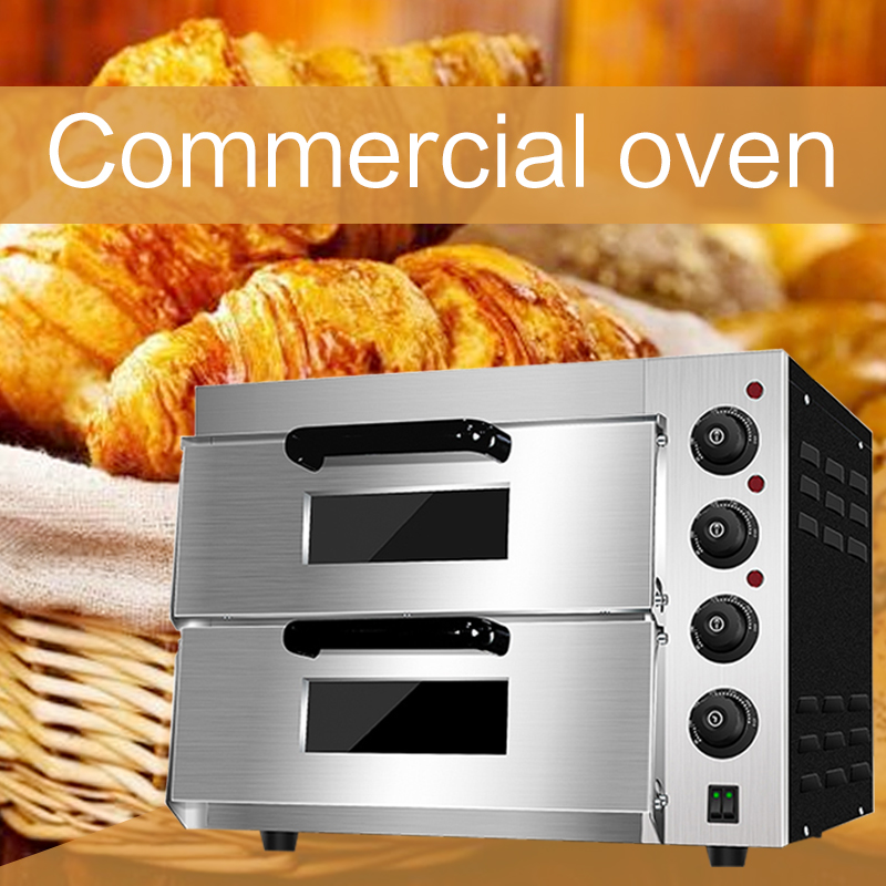 Commercial intelligent multi-purpose oven cake bread Large oven Household Stainless steel heating tube Pizza Electric oven
