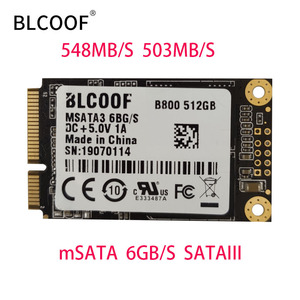 MSATA to sata SSD 512GB Mini I