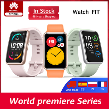 HUAWEI WATCH FIT Smartwatch, tela AMOLED de 1,64