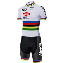 2020 alpecin fenix cycling skinsuit 12D bike shorts MENS ski