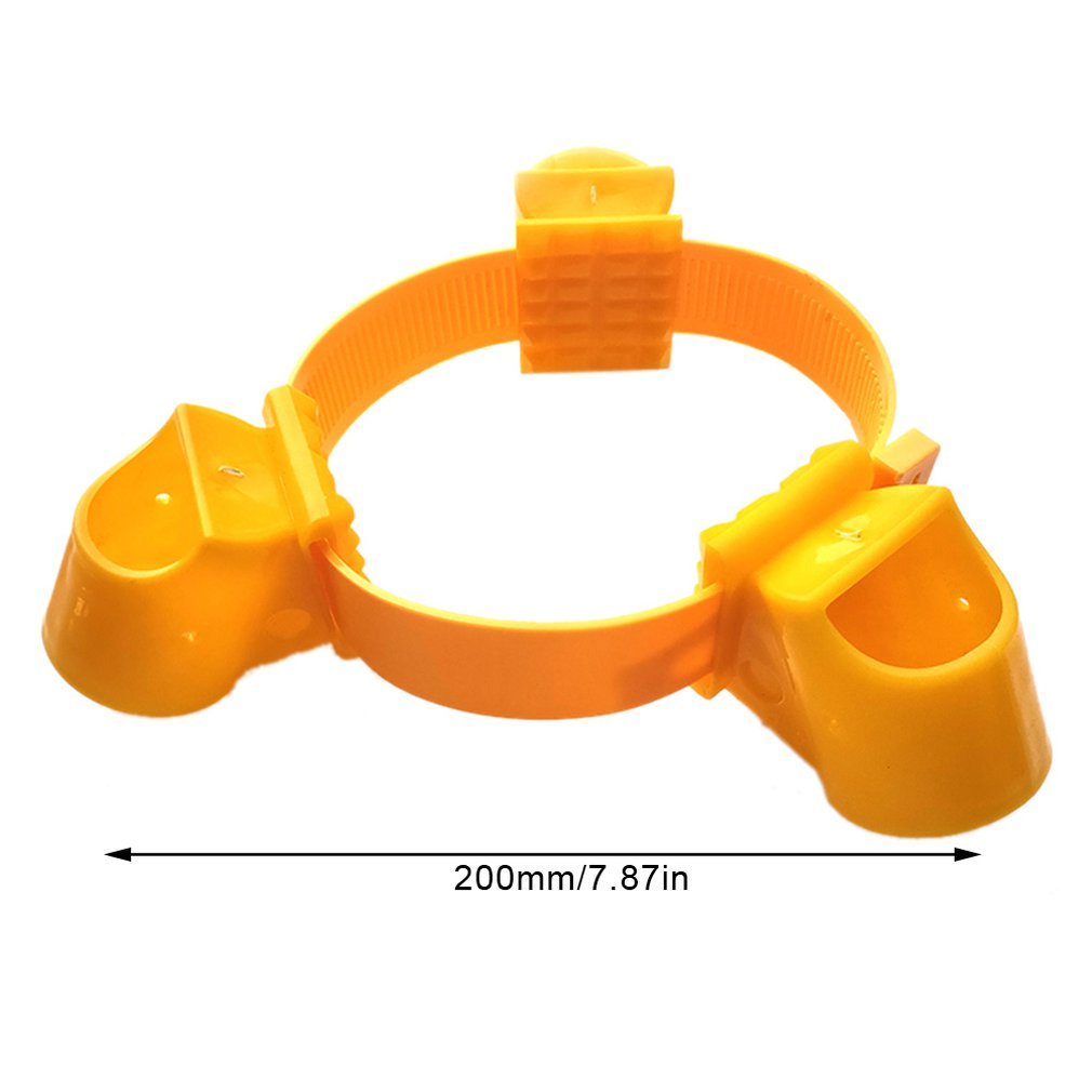 Fixed Bracket Tree Engineering Landscape Plastic Bracket Support Structure Landscape Windproof Sleeve Cup Strap 53Mm in Figurines Miniatures from Home Garden