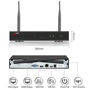 Image 2 - ANRAN 2MP CCTV Wireless NVR Surveillance System Kit 8CH Wifi Sicherheit Video Outdoor Sicherheit Video Überwachung System kit IP66