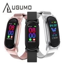 UGUMO YD8 Women Smart Watch Bluetooth Smartwatch Men Heart Rate Blood Pressure Monitor GPS Running Track Smart Wristband