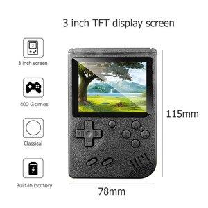 Image 1 - Ingebouwde 400 Games Mini Draagbare Retro Video Handheld Game Console Met 3.0 Inch Kleuren Lcd scherm Handheld Game Spelers
