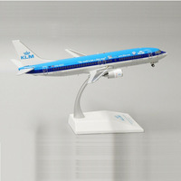 19CM Boeing B737 KLM Air Royal Dutch Airlines 1/200 SCALE Airplane Model Toys Aircraft Aviation Diecast Alloy Plane Gifts F Kids