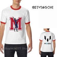 2020 barato nuevo verano MESSI T camisa de los hombres Barcelona camiseta MESSI camiseta homme Tops estilo Swag camiseta aficionados adultos camisa para niños