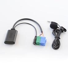 Biurlink 150 см автомобильный стерео Bluetooth аудио кабель микрофон для смартфона адаптер для звонков мини-порт ISO для Порше Becker головное устройство
