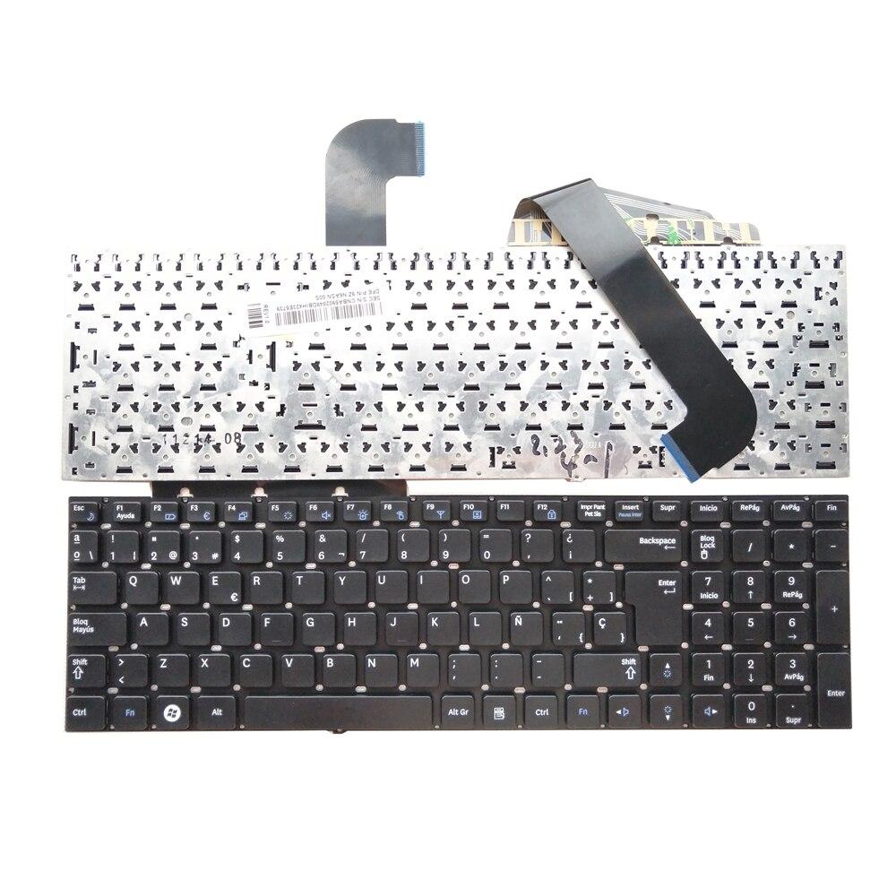 Good Quality OVY SP Spanish Laptop Keyboard For SAMSUNG RF710 RF711 P/n:9z.n6asn.00s
