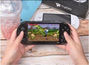 Image 4 - X12 Handheld Game Console 8G 32/64/128 Bit  HD Color LCD Screen 3000+ Games Kid Video Retro Portable Handheld Game Player on TV
