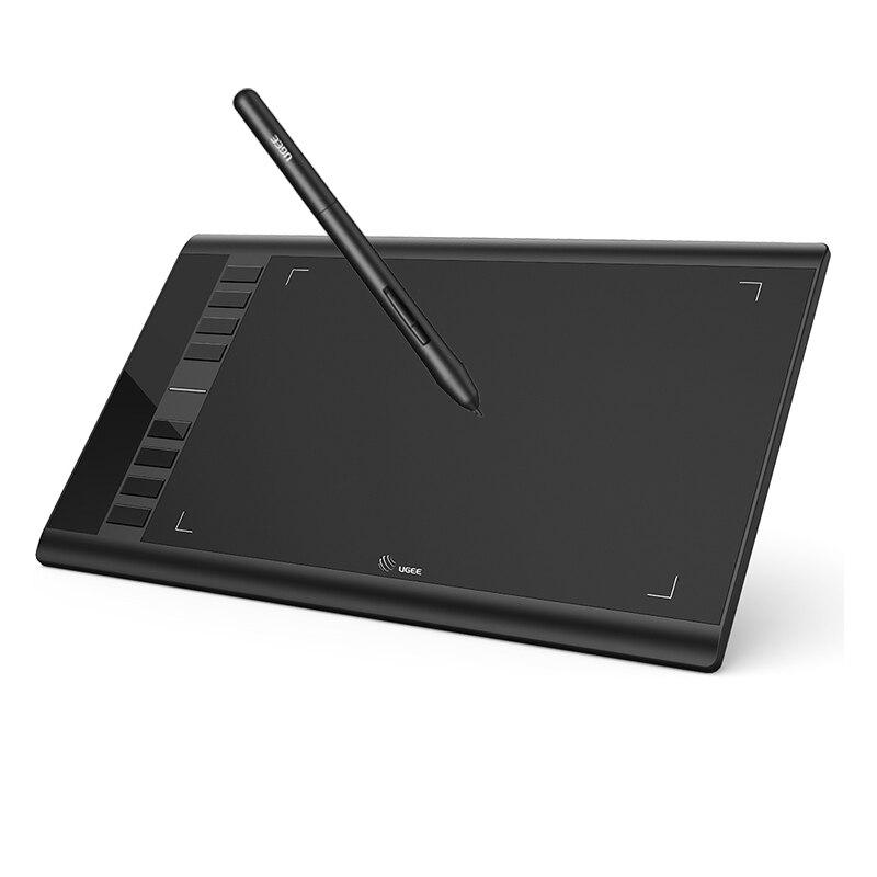 10x6 дюймов Графика графический планшет для рисования и покраска, 8192 уровней цифровой пера планшета для OSU/записи дистанционного обучения чер...