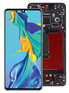 HUAWEI Display Frame Touch-Screen P30pro Super-Amoled ORIGINAL for LCD Vog-l29/Vog-l09/Vog-l04