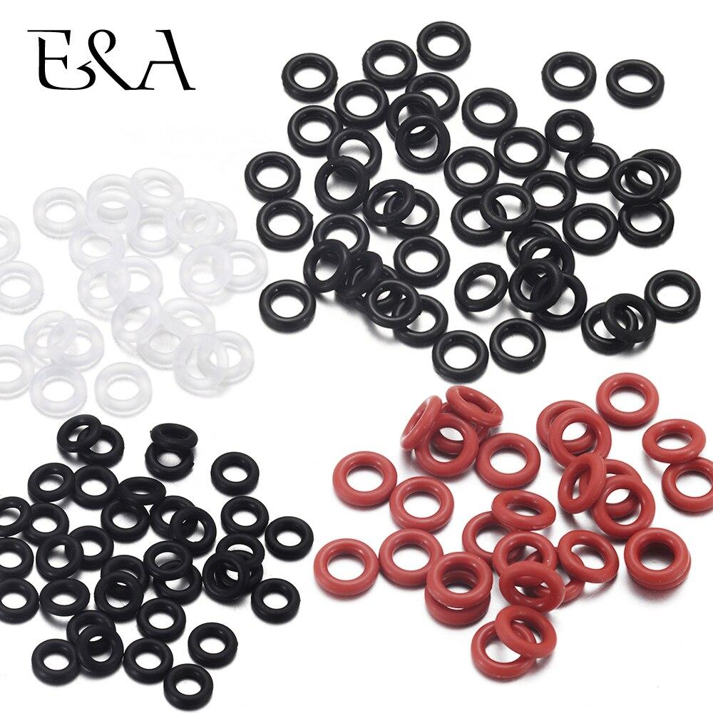 30 шт. резиновое уплотнительное кольцо, позиционирование бусин, амулеты для кожаного браслета, Изготовление эластичных уплотнительных колец|Ювелирная фурнитура и компоненты|   | АлиЭкспресс