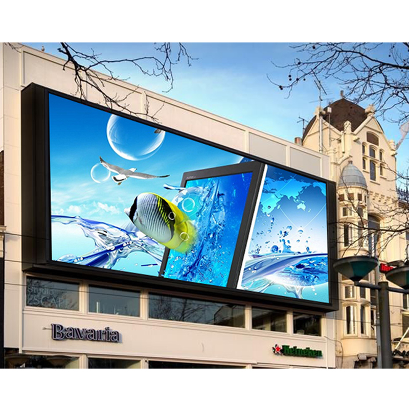P5 Outdoor Led Advertising Screen Waterproof Front Maintenance Smd RGB Digital Led Billboard