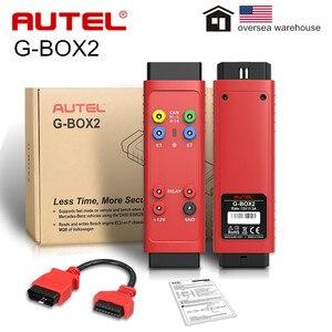 Original Autel G-BOX2 G BOX 2 Accessory Tool for Mercedes Benz All Key Lost Used with Autel MaxiIM IM608/ IM508
