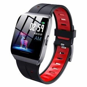 Image 1 - X1 חכם שעונים IP68 עמיד למים לשחייה גברים נשים ספורט Smartwatch 30 ימים ארוך זמן המתנה 1.3 אינץ מסך גדול צמיד