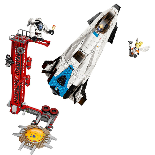 New Games Watchpoint Gibraltar Set Compatible Legoingly Overwatching 75975 Building Blocks Bricks Toys For Kid Christmas Gifts