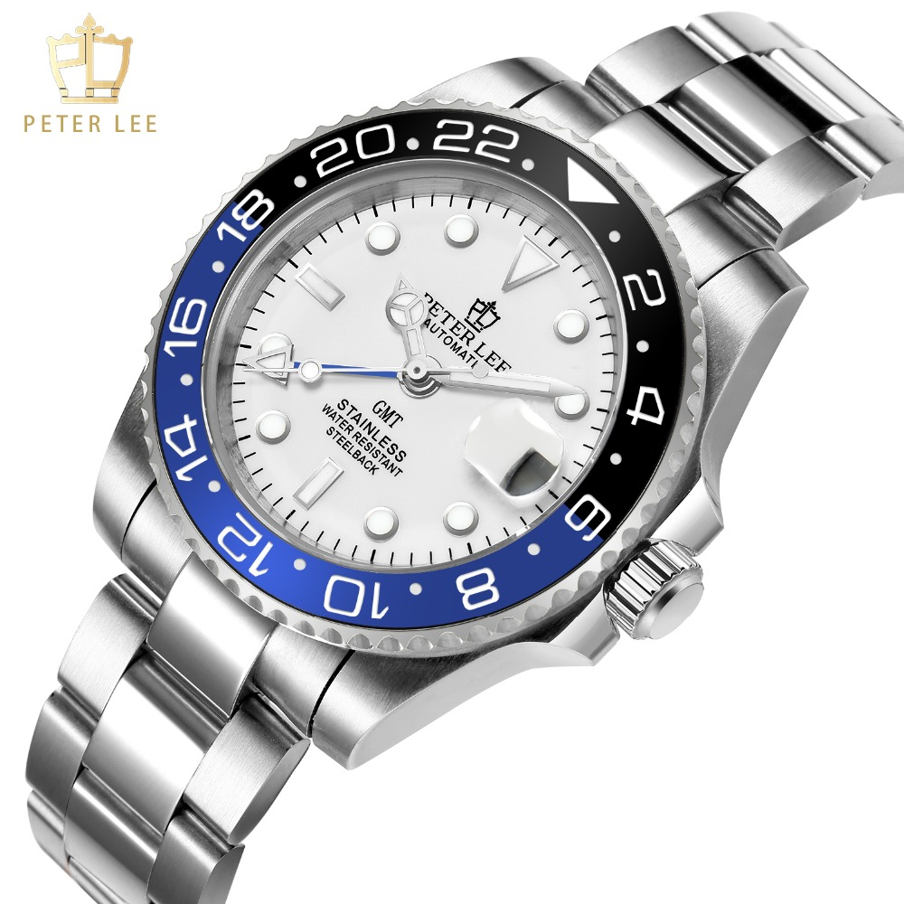 H391c0e593d104143bf5c5a2a749211176 Best Watches For Men   PETER LEE Automatic Watch   Classic Ceramic bezel luxury daydate 40mm mechanical men watches noctilucous stainless steel rose gold men automatic watch