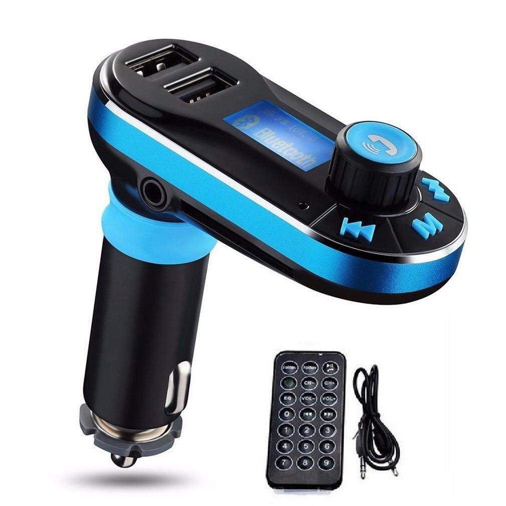 Portable Multifunction Car Mp3 Player Car Mp3 Card Locomotive Car Charger Fm Transmitter Bt66 Car Mp3 Player