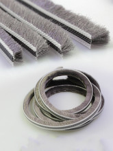 5Meters/Lot Aluminum sliding door window groove nylon pile brush seal weatherstrip dust proof strip
