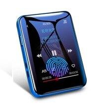 Oryginalny BENJIE X1 16GB/32GB Mini MP3 odtwarzacz Bluetooth 1.8nches w pełni dotykowy ekran przenośny odtwarzacz muzyki Bluetooth ze słuchawkami