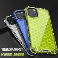 Funda de lujo de Airbag para iPhone, carcasa transparente a prueba de golpes para modelos 12, 11 Pro Max, Mini, Xr, X, XS, 6, 6s, 7, 8 Plus