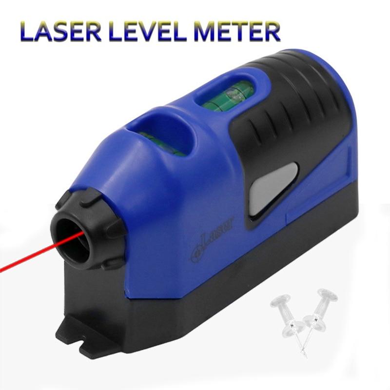 Laser Level Mini Vertical Spirit Level Tool Laser Straight Laser Guided Level Line Measurement Gauge Tool