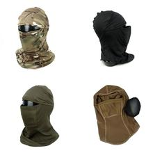 TMC3267 CS táctico Camo cubierta de la cabeza de malla de Metal pasamontañas la máscara protector solar a prueba de polvo-envuelto pañuelo envío gratis