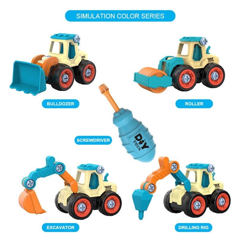 DIY Truck Engineering Toys 11