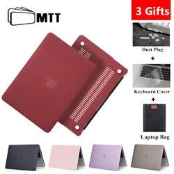 MTT Crystal Matte skrzynki pokrywa dla Macbook Air Pro Retina 11 12 13 15 16 pokrowiec na laptopa dla mac book Air 13.3 ''Funda A1932 A2179