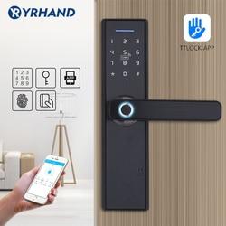 Wifi App Elektronische Deurslot, Intelligente Biometrische Deursloten Vingerafdruk, Smart Wifi Digitale Keyless Deurslot
