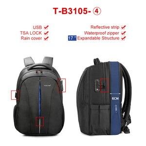 Image 4 - Tigernu odporny na zachlapanie 15.6 cal plecak na laptopa NO Key TSA z zabezpieczeniem przeciw kradzieży mężczyźni plecak podróży plecak dla nastolatków torba mężczyzna plecak mochila