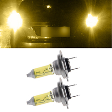 1 Pair Car Headlight H7 Lamp Super Bright Car Halogen Bulb 55W Fog Light DC 12V