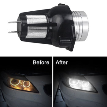 2 Pcs LED Marker Indicator for BMW 3 Series E90 E91 Angel Eyes LED Side Light Bulb Sedan Wagon Headlights image