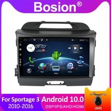 Bosion DSP IPS GPS Kia Sportage 3 SL 2010 2016 차량용 라디오 멀티미디어 비디오 플레이어 내비게이션 GPS Android 10 No 2din 2 din dvd