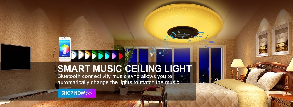 1音乐LED吸顶灯-PC端