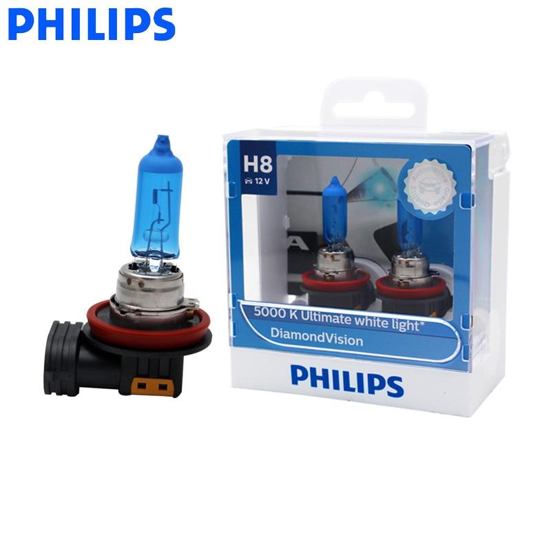 2x H8 35w Super White Xenon Upgrade HID Front Fog Lamp Light Bulbs Pair