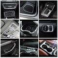 Автомобильный Стайлинг, центральная консоль, рама переключения передач, обшивка для Audi Q3 2013-2018, дверной аудио динамик, рамка, украшение