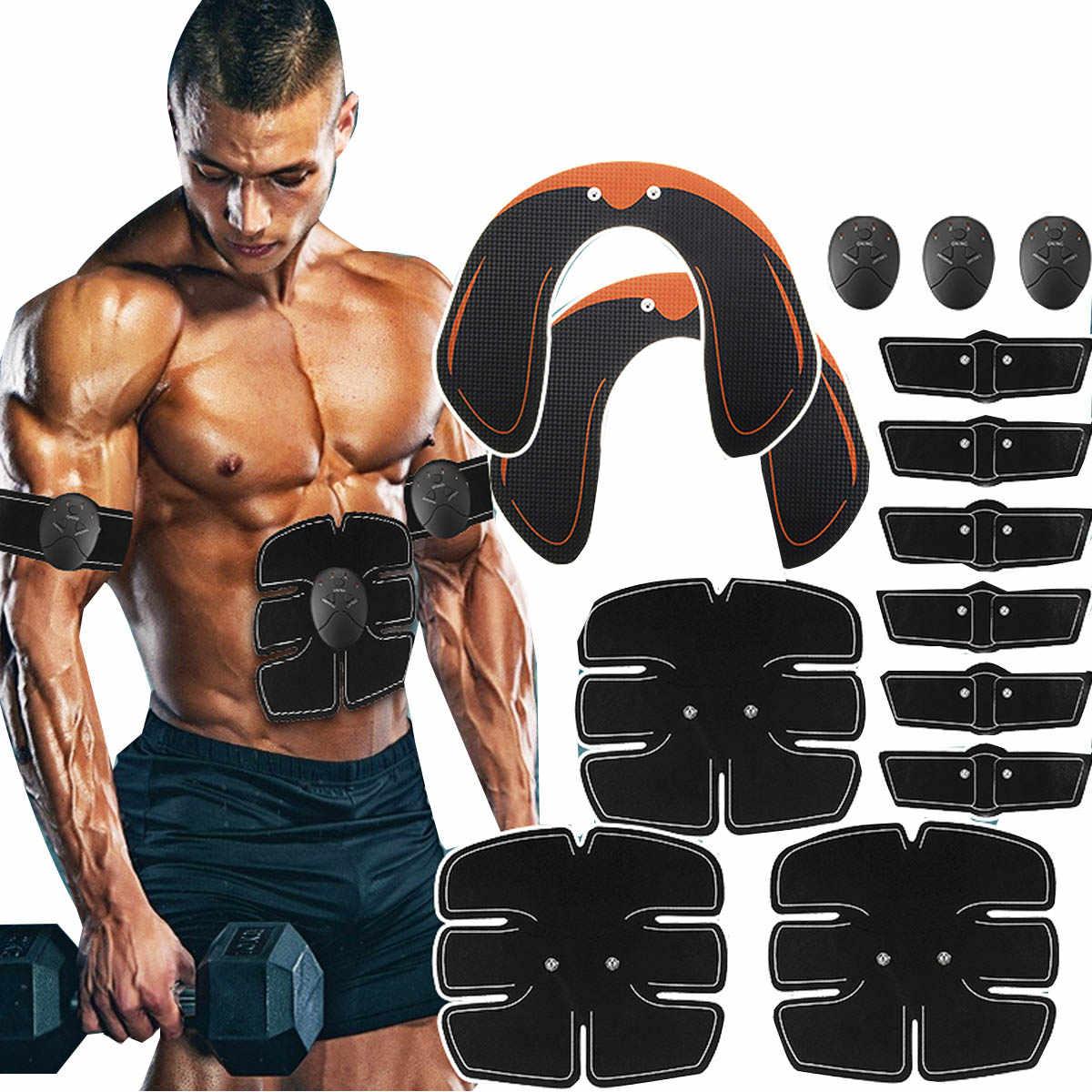 14 Buah/Set Getaran Stimulasi Otot Pelatihan Hip ABS Pantat Angkat Latihan Tubuh Pembentuk Otot Listrik Pelatihan Pijat